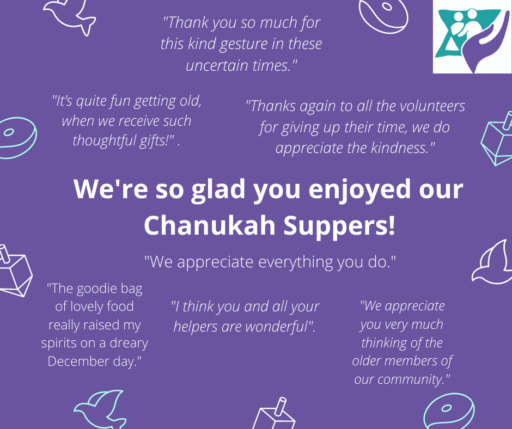 Chanukah Supper Deliveries 2020