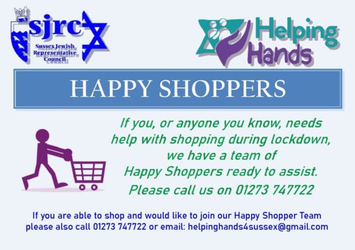 Need help getting your shopping? Use our Happy Shoppers!