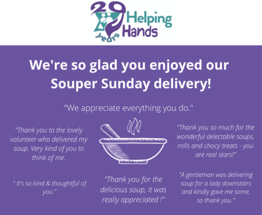 Souper Sunday Deliveries